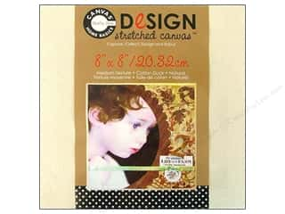 Fabric Canvas Corp Blank: Canvas Corp Stretched Canvas 8 x 8 in. Natural