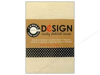 Canvas Corp Blank Stretch Canvas Chunky Nat 4x6