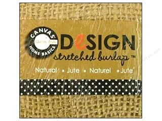 Staple Basic Components: Canvas Corp Stretched Burlap 2 x 2 in. Blank