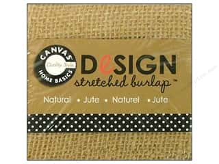 Canvas Corp Stretched Burlap 3 x 3 in. Blank