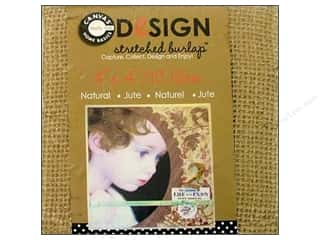 Memory & Paper Craft Frames: Canvas Corp Stretched Burlap 4 x 4 in. Blank