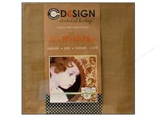 Staple Basic Components: Canvas Corp Stretched Burlap 18 x 18 in. Blank