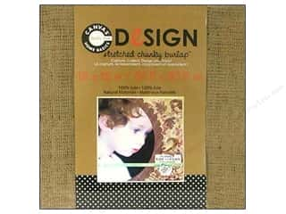 Canvas Corp Blank Stretch Burlap Chunky 12x12