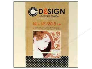 Memory & Paper Craft Frames: Canvas Corp Blank Strthd Canvas Ntrl 12x12""