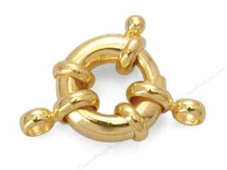 Sweet Beads EWC: Sweet Beads Spring Ring 13 mm Gold 1pc