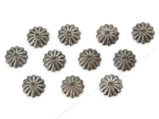 Beadalon Cap Findings/Spacer Findings: Sweet Beads Fundamental Finding Cap 6 mm Fluted Antique Silver 72pc