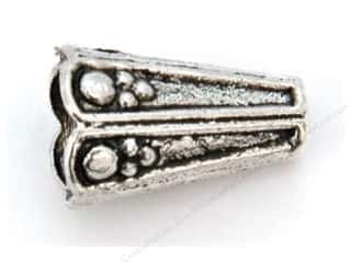 Sweet Bead Cone 9 x 19 mm Antique Silver 8pc