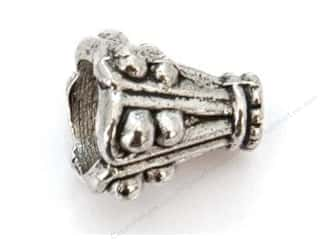 Sweet Bead Cone 8 x 12 mm Antique Silver 10pc