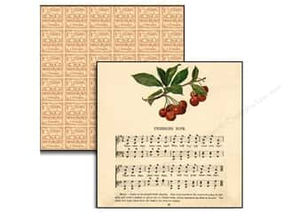 button: Jenni Bowlin Paper 12x12 Haven Cherries Ripe (25 sheets)
