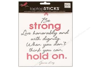 MAMBI Laptop Sticker BCRF Be Strong Hold On