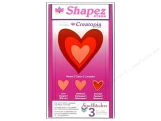 Xyron Creatopia Shapez Heart Die by Spellbinders