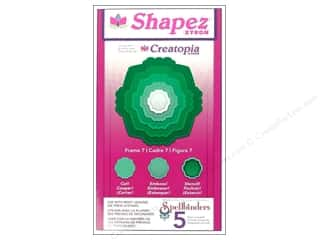 Xyron Creatopia Shapez Frame 7 Die by Spellbinders