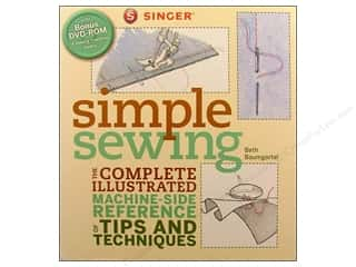 Computer Software / CD / DVD: Singer Simple Sewing Book