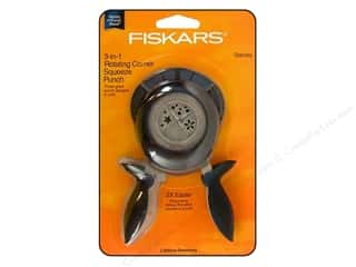Fiskars 3-in-1 Corner Squeeze Punch Starlets
