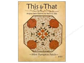 Books & Patterns Fall Sale: This & That Mini Pumpkin Patch Pattern