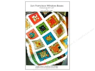 San Francisco Window Boxes Pattern