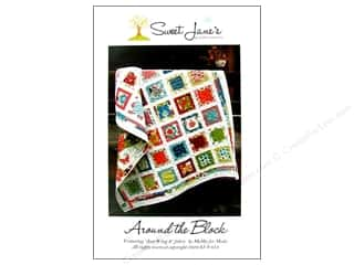 Sweet Jane Quilting Designs: Sweet Jane's Designs Around The Block Pattern