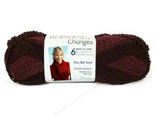 C&amp;C Red Heart Boutique Changes Yarn 3.5oz Garnet