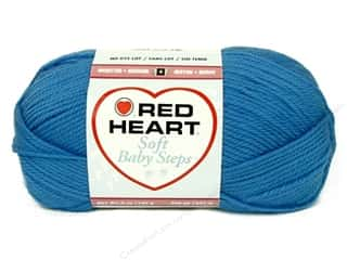 Red Heart Soft Baby Steps Yarn Deep Sky 5 oz.