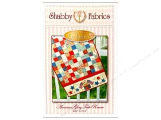 Shabby Fabrics Table Runners / Kitchen Linen Patterns: Shabby Fabrics American Glory Table Runner Pattern