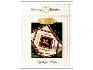 Straight Stitch Quilting Patterns: Shabby Fabrics Quilt For Hope Pattern