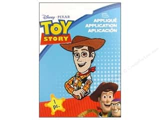 Wrights Appliques Disney Iron On Medium Toy Story Woody
