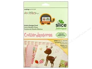 Making Memories Sewing & Quilting: Slice Design Card Making Memories Fabrique Critter Jamboree