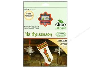Making Memories Christmas: Slice Design Card Fabrique Tis The Season