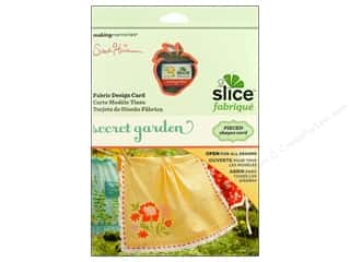 Slice by Elan: Slice Design Card Making Memories Fabrique Secret Garden