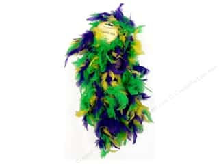 Midwest Design Boa Chandelle Mardi-Gras 2yd