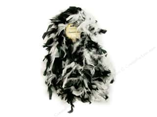 Midwest Design Boa Chandelle Black/White 2yd