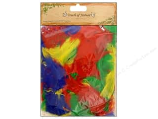 "G.E. Designs $2 - $3: Midwest Design Feather Turkey 2-3.5"" Assorted 14gm"