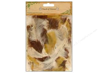 "Midwest Design Imports Brown: Midwest Design Feather Turkey Flat 4-6"" Earth 14gm"