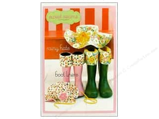 Sweet Treasures Clearance Patterns: Sweet Seams Rainy Hats Boot Liners Pattern