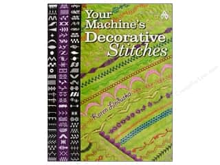 American Quilter's Society $8 - $10: American Quilter's Society Your Machine's Decorative Stitches Book by Karen Linduska