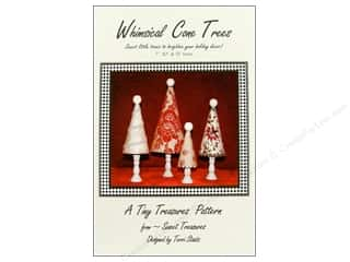 Home Decor Birthdays: Sweet Treasures Whimsical Cone Trees Pattern