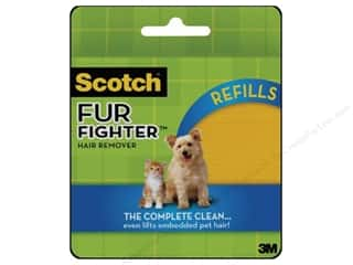Cleaning Wipes / Sanitizer Wands: Scotch Fur Fighter Hair Remover Refill Sheet 8pc