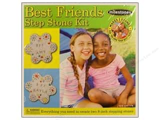 stepping stone Milestones: Milestones Kit Stepping Stone Best Friends 8&quot;