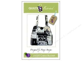 Patterns Purses, Totes & Organizers Patterns: Quilts Illustrated Cabo Bucket Pattern