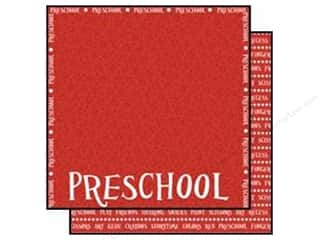 Scrappin Sports Paper 12x12 School Preschool (25 sheets)