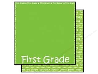 Scrappin Sports Paper 12x12 School First Grade (25 sheets)