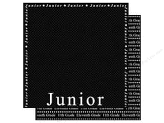 Scrappin Sports Paper 12x12 School Junior (25 sheets)