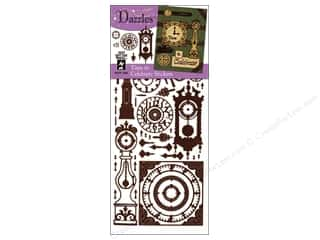 Hot off the Press Clearance Crafts: Hot Off The Press Stickers Dazzles Time To Celebrate Brown