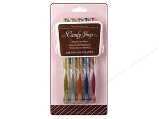 Weekly Specials Aunt Lydia's: American Crafts Candy Shop Gel Pen Pack Metallic 5 pc.