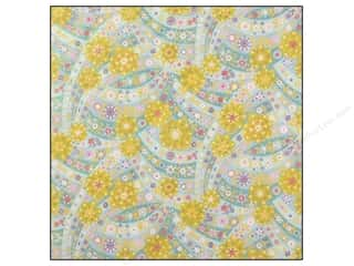 Cabbage Rose Anna Griffin Cardstock: Anna Griffin 12 x 12 in. Cardstock Lizzie Glitter Calico Blue (25 sheets)