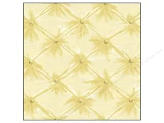 Anna Griffin 12 x 12 in. Cardstock Francesca Quilted Ivory (25 sheets)
