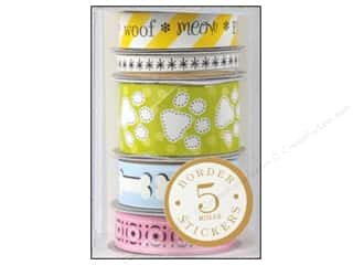 Anna Griffin Sticker Fifi Fido Border Rolls