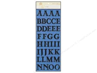 Anna Griffin Alphabet Stickers Willow Black