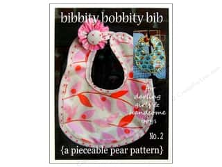 A Pieceable Pear Pattern: A Pieceable Pear Bibbity Bobbity Bib Pattern