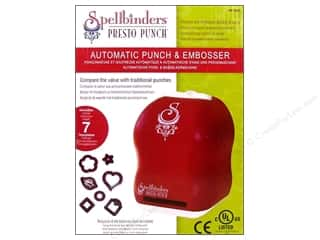 Spellbinders Presto Punch Machine